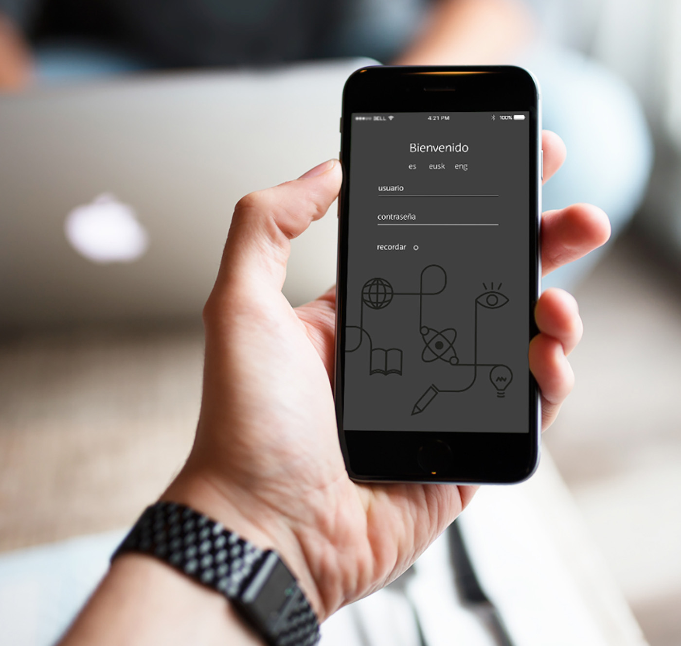 App redesign | example