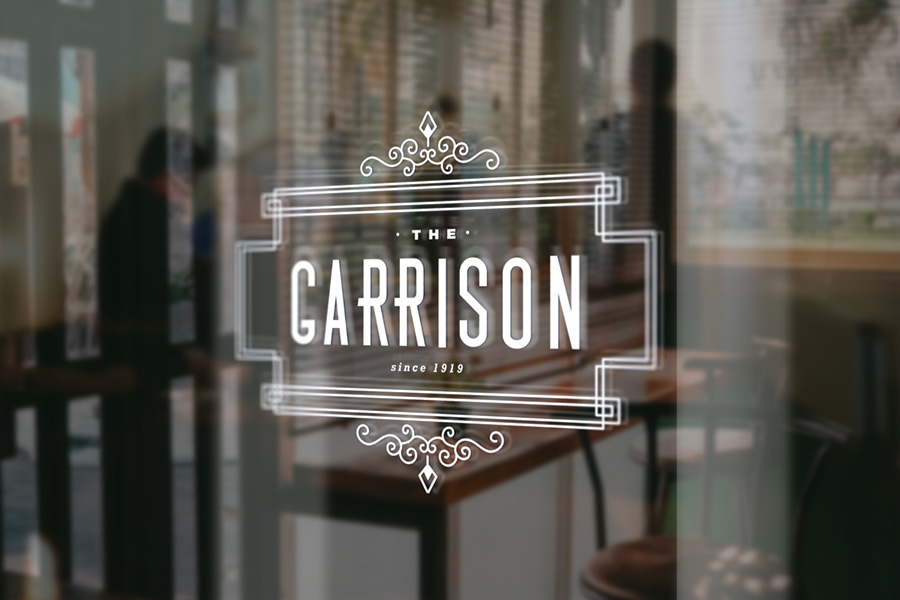 Branding | The Garrison (The Peaky Blinders pub)