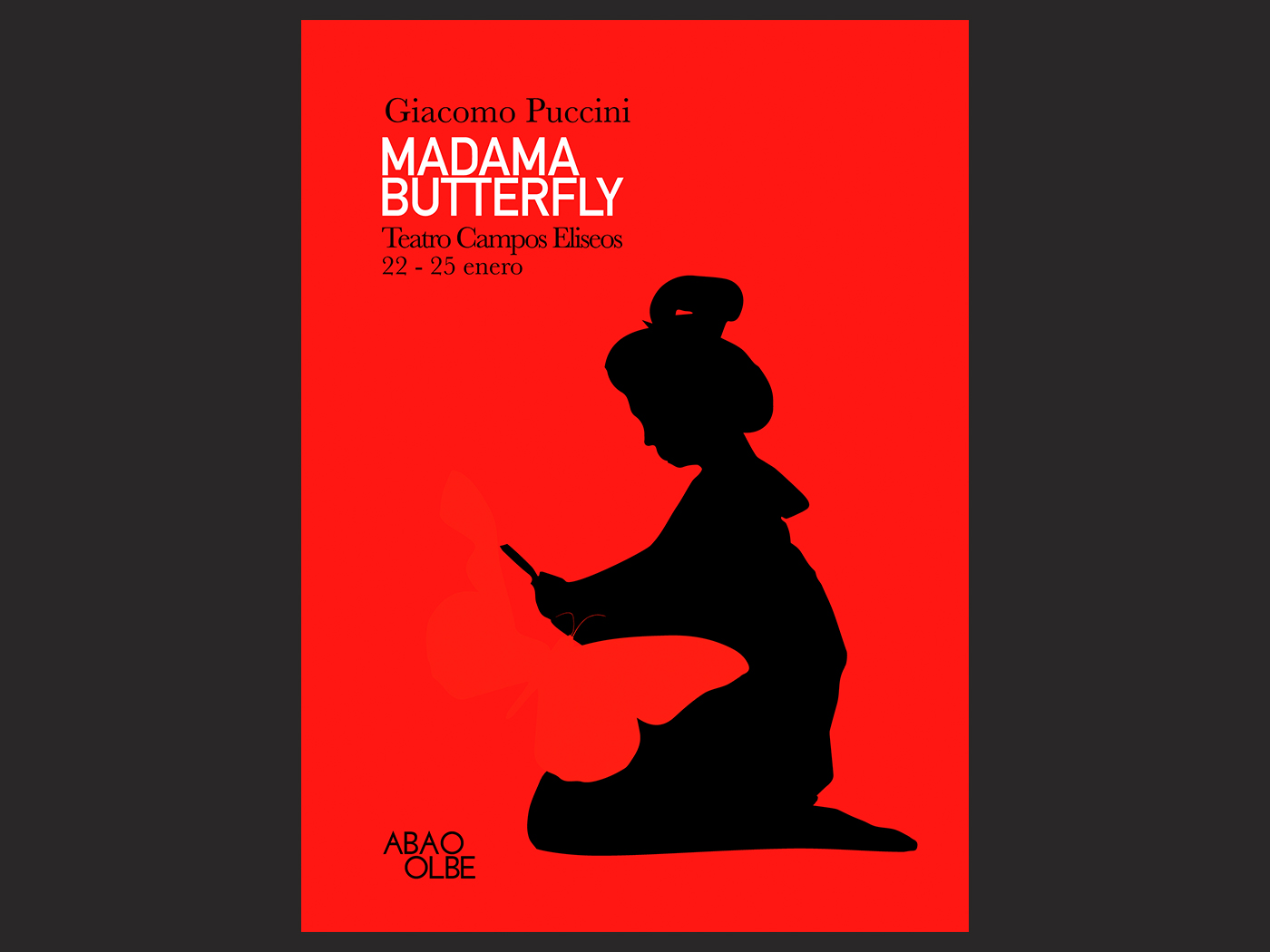 Opera posters | Madame Butterfly
